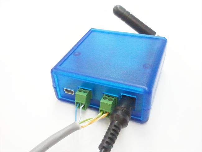 GSM модем схема подключения через UTP