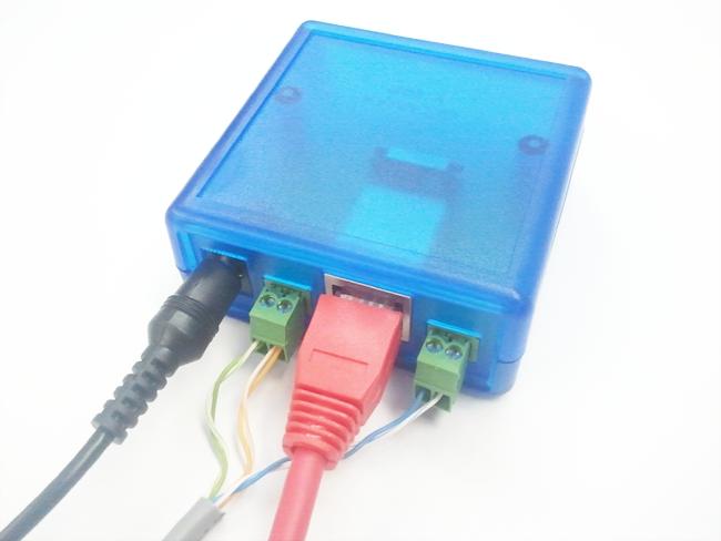 Подключение счетчиков через кабель UTP