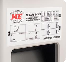 Mercury D-45CU - Полезная информация